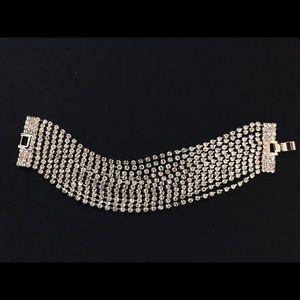 Jewelry - Plus size Rhinestone Bracelet (NWOT)